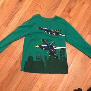 Boy's OshGosh Long Sleeve Tee Shirt Size 8